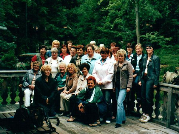 Gauvergleichskampf der Damen über 40