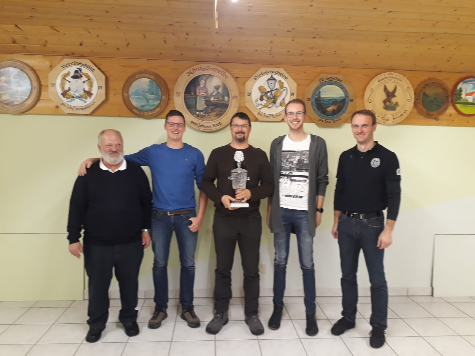 Mannschaft der Seiboldsrieder Schützen gewinnt Seidl Otto Gedächtnis-schießen 2020